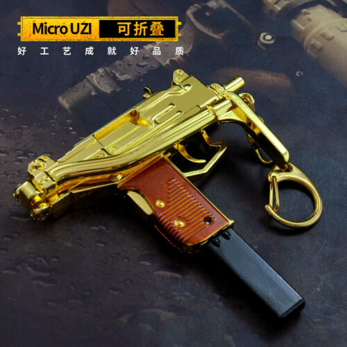 1//5 1:5 GUN PUBG 98K s686 VSS win94 M16 AK47 SKS M24 UZI Scar-L Metal GOLD color