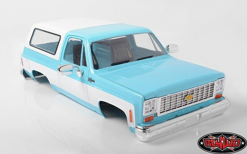 Scalemonkey Set bed Extension and CAB BACK FOR rc4wd Blazer Body Wheelbase 324 mm