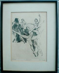 image is loading g h rothe 034 dance 034 limited signed mezzotint