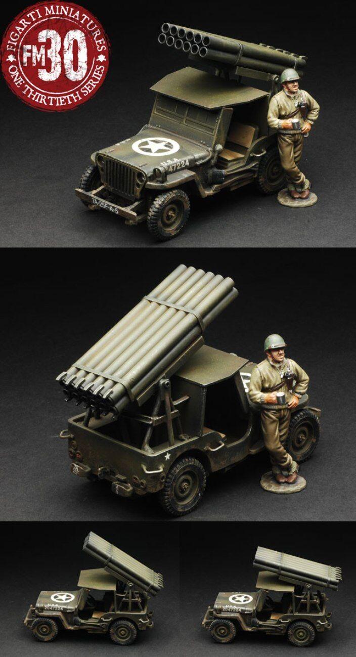 Figarti WW2 Amerikanische ETA-033 US ARMEE Rakete Jeep Set MIB