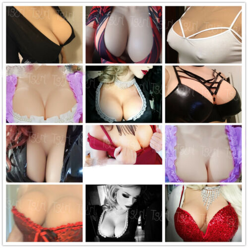 Silicone Boobs Breast Forms Fullbody Crossdresser CD TG TV Drag Queen Suit D Cup