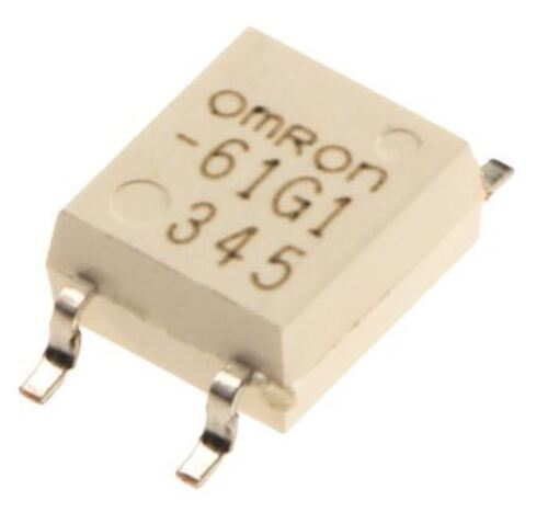 60 V Maximum Load Omron 0.4 A Solid State Relay Surface Mount MOSFET