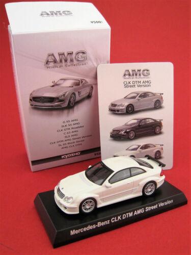 Mercedes-Benz CLK DTM AMG Street versión Kyosho japón escala 1:64 OVP