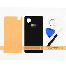 Housing Battery Back Cover Door Glass + Tool Adhesive Fr LG Optimus G E975 Black