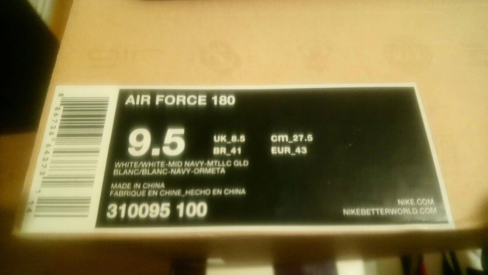NIKE AIR FORCE 180 OG RETRO 2012 DREAM TEAM P43