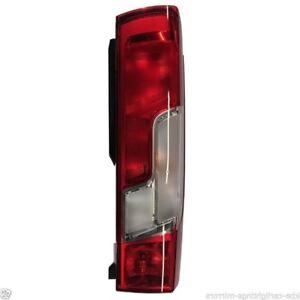PEUGEOT BOXER 2006-2014 REAR TAIL LAMP LIGHT NEARSIDE PASSENGER SIDE LH
