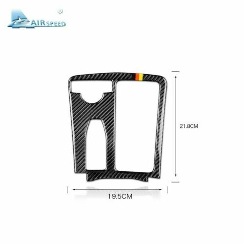 For Mercedes Benz C Class W204 E Class W212 Carbon Fiber ConsolePanel Cover Trim