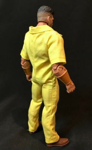 jaune Prison Tenue Pour Marvel légendes ou Mezco One:12 no figure Su-Power Rangers-M-Y