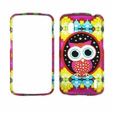 For LG Nexus 4 E960 Verizon Graphic Owl Plane Case Hard Phone Cover