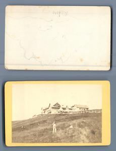 à identifier CDV vintage albumen Tirage albuminé  6,5x10,5  Circa 1870