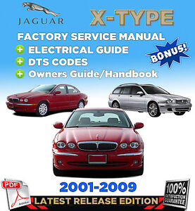 jaguar x type 2001 2009 factory repair service manual workshop rh cafr ebay ca jaguar x-type electrical guide jaguar x type guide