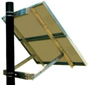Solar Panel Mount 2 Panel Bracket System Side Of Pole