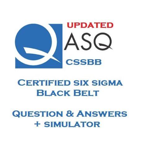 Simulator ASQ Certified Six Sigma Black Belt CSSBB Q/&A