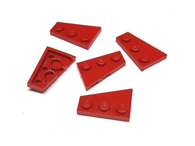 Lego 10 Stück schwarz Flügel Platte 6x3 links Keil Keilabsatz Basics 54384 Neu