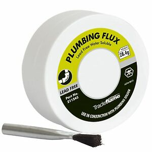 Tradeflame-PLUMBING-FLUX-amp-BRUSH-28-4g-Lead-Free-Water-Soluble