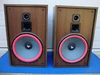 """Nice Cerwin-Vega D-15EE Large 3-way Floor Speaker - 15"""" Woofers -Conditioned"""