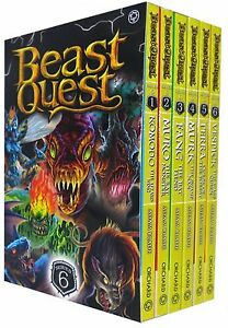 Beast-Quest-Series-6-The-World-of-Chaos-6-Books-Collection-Box-Set-Books-31-36