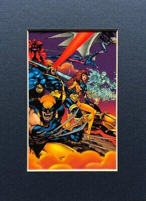 ANDY KUBERT X-Men CEL matted LTD 500 art 2004 rare LASER MACH print LAST TWO!