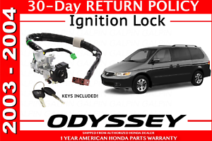 Image Is Loading New Genuine Honda Odyssey Ignition Switch Y With