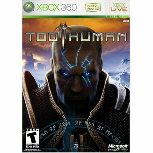 Too Human For Xbox 360 Very Good 0E
