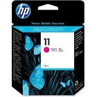 Ink Magenta 11 Original Printers HP Cartridge Black Hewlett Packard C4837A CP 2600