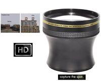 4.7x Xtreme Hi Def Telephoto Lens For Panasonic Lumix Dmc-gh2 Dmc-g1