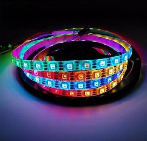 TIRA-DE-LED-DE-1-M-WS2812B-DIRECCIONABLE-IP30-5V-60LED-M-STRIP-LED-RGB