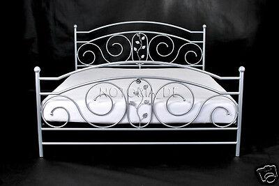 ROSA Eisenbett Metallbett Schlafzimmer Design Bett Bettgestell 160x200 cm