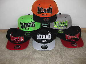 Snapback-Cap-Urban-HipHop-city-Stadt-Trucker-ERA-flexfit-baseball-Kappe-Pulsz