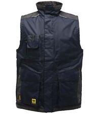 Regatta Hardwear Encode Mens Heavy Duty Padded Bodywarmer Gilet .Jacket Navy S