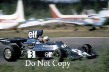 Jody Scheckter Elf Tyrell 007 Swedish Grand Prix 1974 Photograph 1