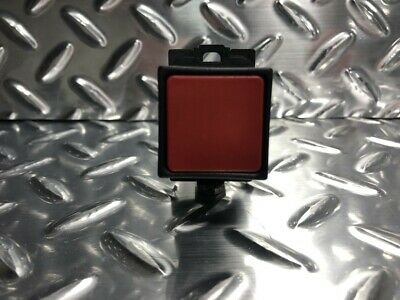 Feed Hold-Haas Part # 93-1257 Haas Cycle Stop Push Button Round Red in Black