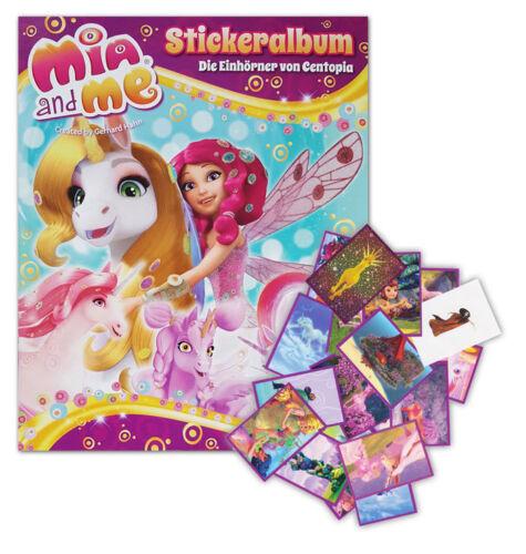 album Mia and Me 5-Les licornes de Centopia ensemble complet tous les 176 stickers