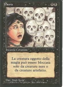MTG Unholy Strength Forza Diabolica FBB Prima Edizione ITALIANA