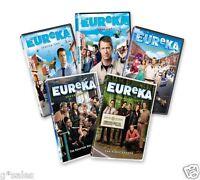 Eureka Complete Series Season 1-5 (1 2 3 4 & 5) 17-disc Dvd Set