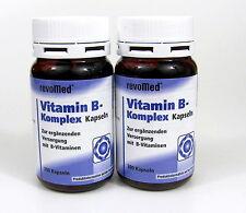 Vitamin B-Komplex 400 (2 x 200) Kapseln von revoMed Vitamin-B-Kapseln
