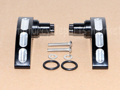 Edge Cut Saddlebag Latch Lever Lid Lifter For Harley Touring Road Glide 14-18 17