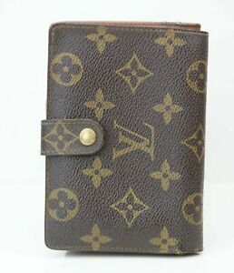 Louis-Vuitton-Geldboerse-Portemonnaie-LV-Monogram-Muster-Vintage