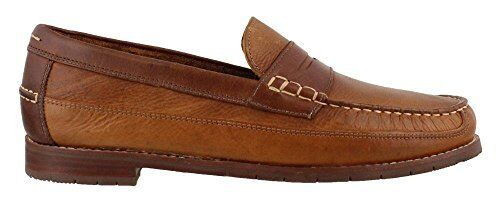 G.H. Bass & Co. Men's Howard Loafer Tan Leather Dress shoes 70-72032