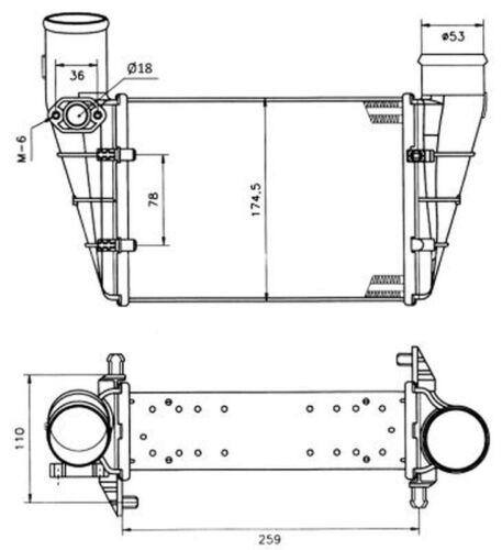 Ladeluftkühler NRF 30127A