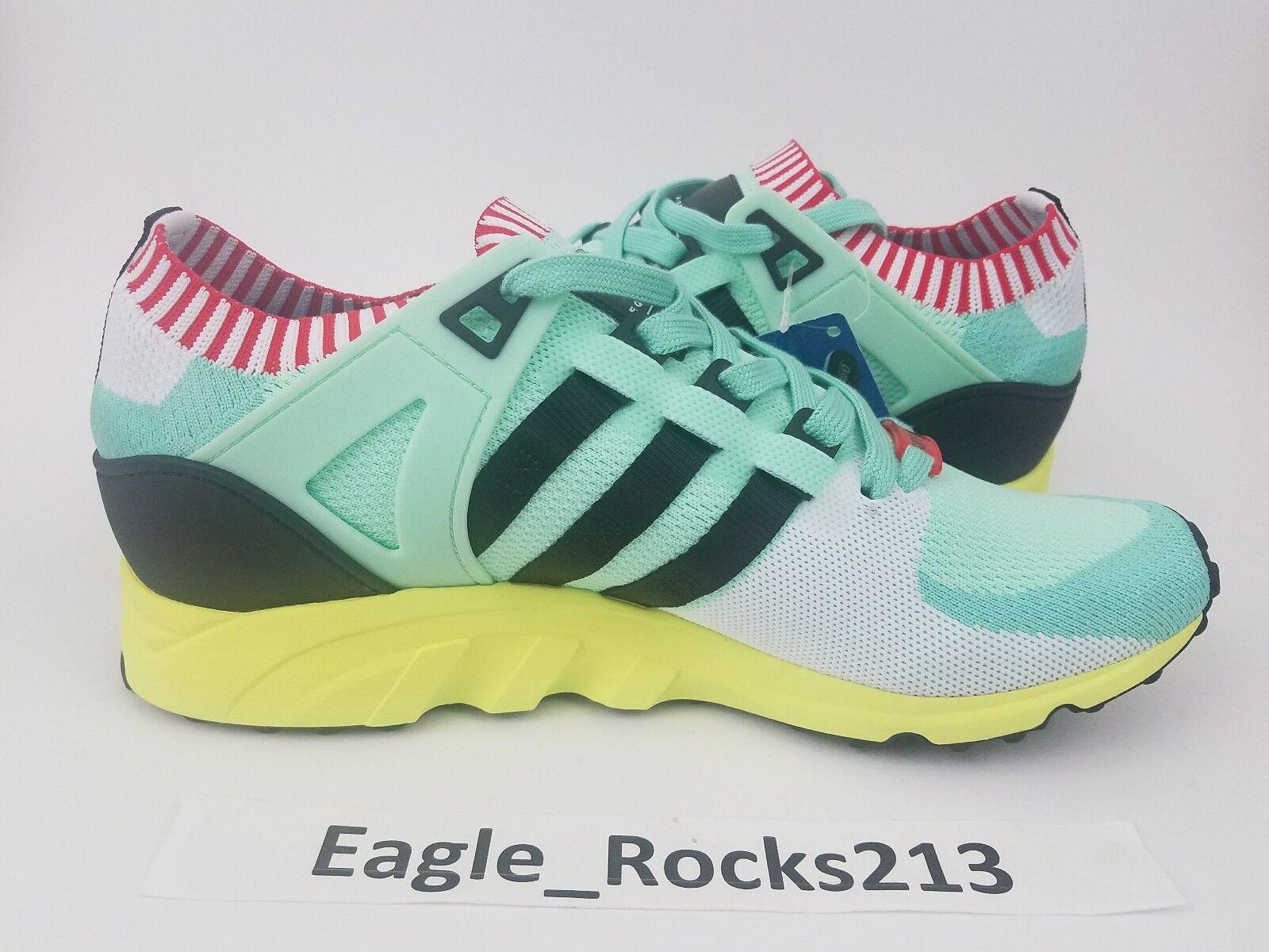 160 Adidas EQT Support 93 PK Running Shoes Mens Sz 9 Frozen Green BA7506 NEW