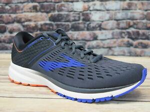 64de281b03b82 Details about Men's Brooks Ravenna 9 Ebony/Blue/Orange Running