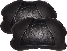 Adinox Car Seat Neck Cushion Pillow / Neck Rest Pure Black Color Set of 2 Pcs