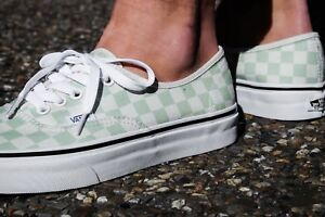 Image is loading Vans-Authentic-Checkerboard-Ambrosia-Men-039-s-Size- 92ca064be1
