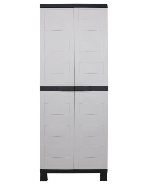 Ondis24 Kunststoffschrank Haushaltsschrank Büroschrank Aktenschrank Stilo Set