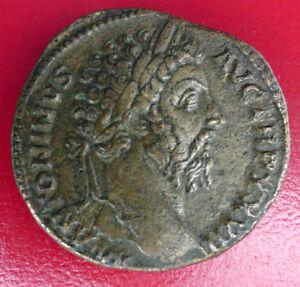 MONNAIE ROMAINE SESTERCE ROME 174 - MARC AURELE 161-180