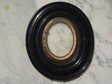 Cadre en bois noirci Miniature photos d'époque Napoléon III XIXè
