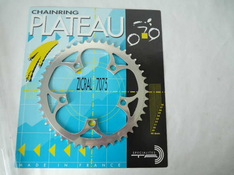 T.A. Chainring 47T 110 BCD 47 tooth TA  3 32  VINTAGE bicycle NOS  no minimum