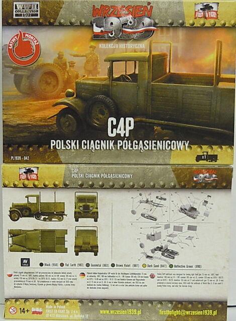 Artillerietraktor C4P, 1/72, First To Fight ,Plastique ,Nouveauté