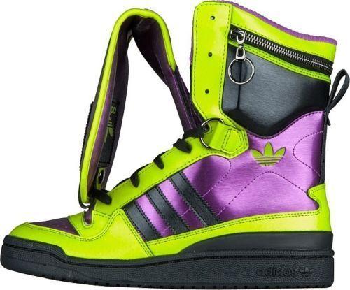 Adidas originali stivali jeremy scott ragazzo alto estate scarpe stivali originali sz 9-14 autentico 039a6d
